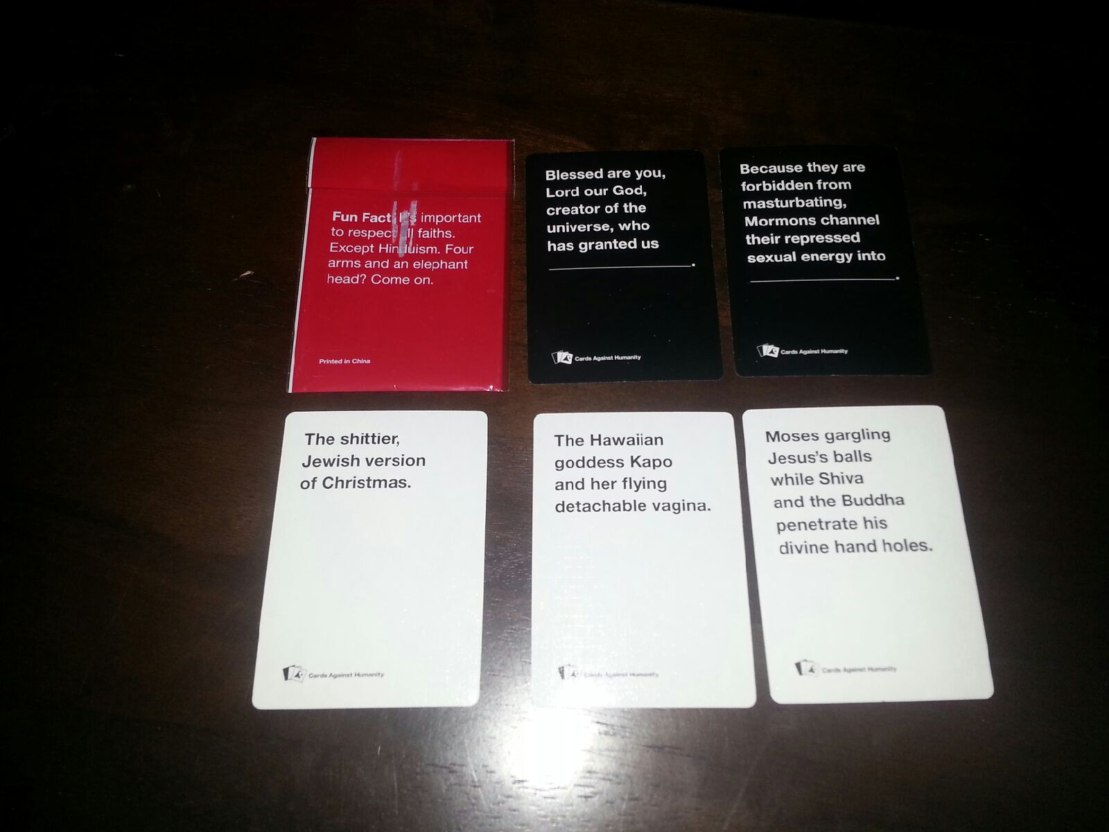 On the third day of Christmas, Cards Against Humanity gave ...