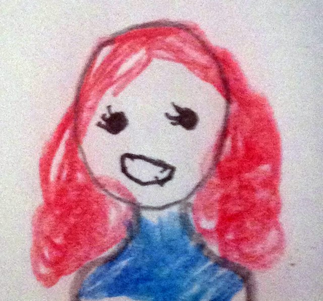 SJ's portrait of me
