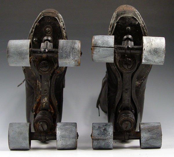 Bottom of Victorian roller skates