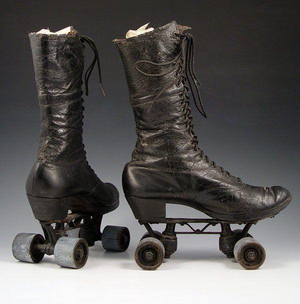 Victorian High Top Roller skates