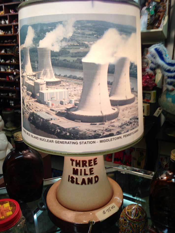 Three Mile Island Lamp