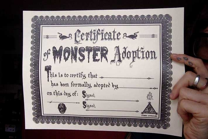 Monster adoption