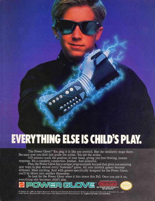 Power Glove ad