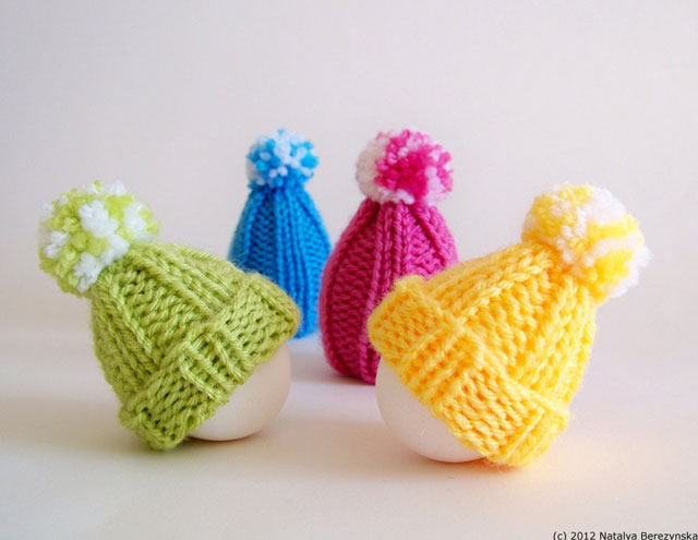 Knitted Chick Egg Cosy Pattern : The quirky world of egg cups, cosies, and toast soldiers Blazenfluff