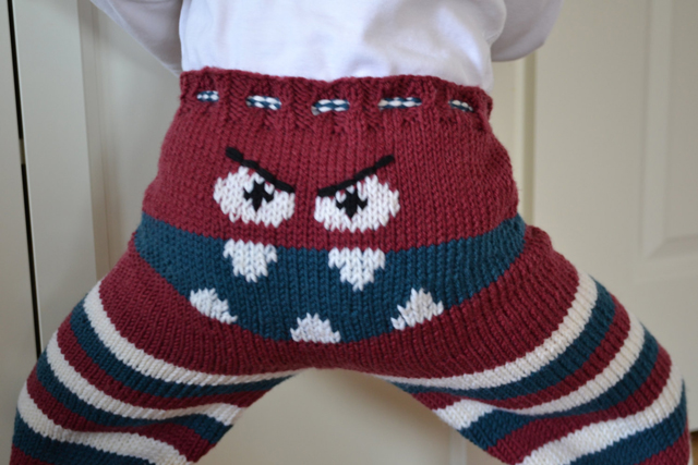 Baby Monster Pants
