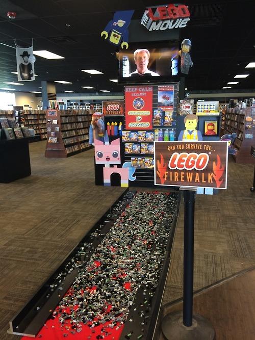 LEGO firewalk