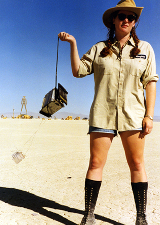 Rusty Blazenhoff 1996 at Burning Man