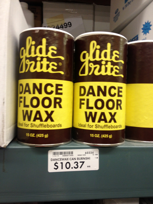 Glide Rite Dance Floor Wax