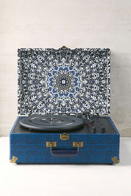 Crosley Blue vinyl record player
