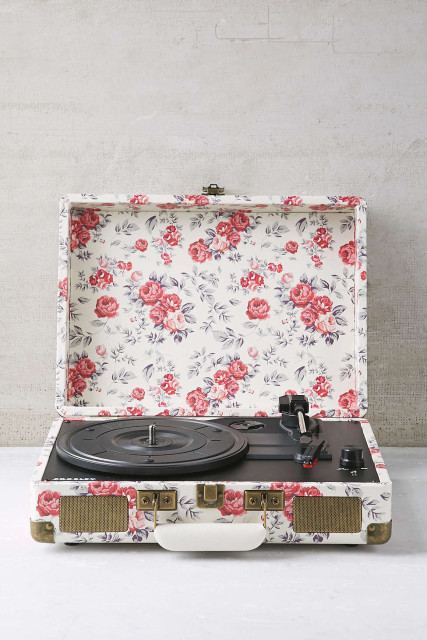 Fresh flowers turntable